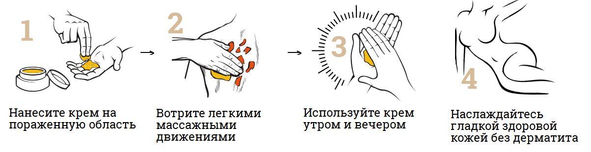 инструкция для крема «ЗДОРОВ» от дерматита