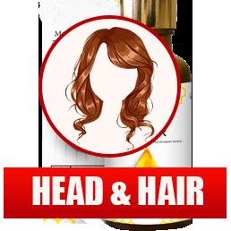 Масляный комплекс «Head & Hair» для волос